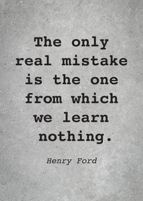 Henry Ford Quote L016