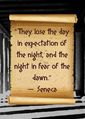 Seneca lose day and night