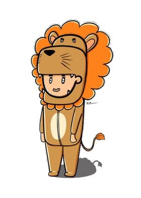 Lion Cute Costume