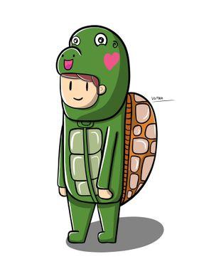 Turtle Cute Costume