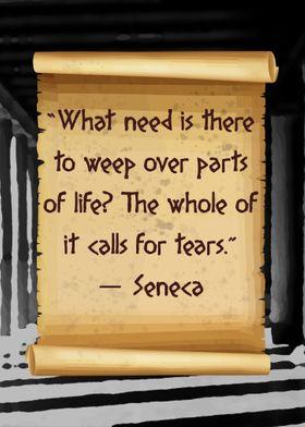 Seneca no weep