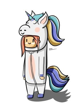 Unicorn Cute Costume