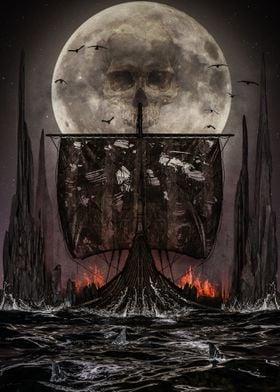 Viking Ship Naglfar Norse