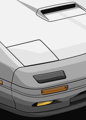 RX7 FC3S Details