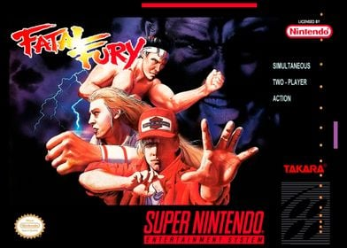 SNES FATAL FURY COVER