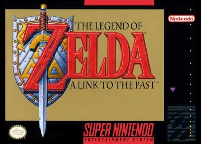SNES ZELDA COVER