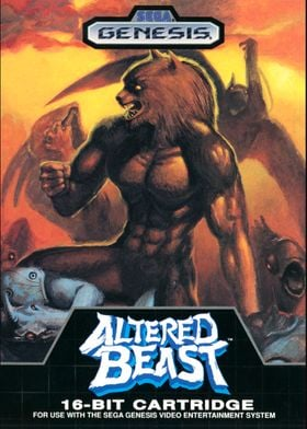 ALTERED BEAST COVER
