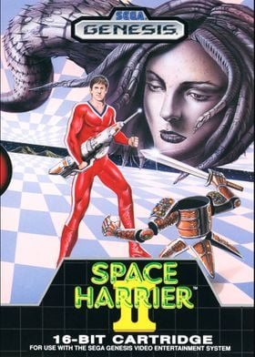 SPACE HARRIER 2 COVER