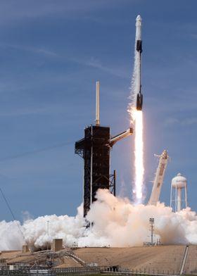 Falcon9 Liftoff Demo2 NASA