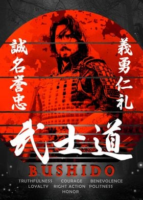 Samurai Bushido Virtues