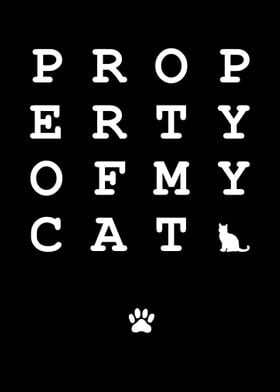 Property of my Cat