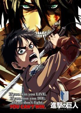 Eren Attack on Titan Anime