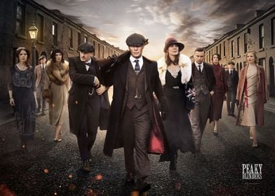 Peaky Blinders Key Art