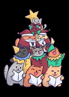 Christmas Cat Christmas Ca