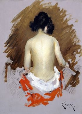 William Merritt Chase Nude