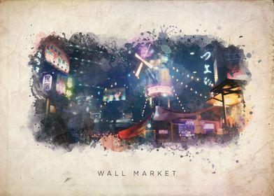 FF7 Wall Market