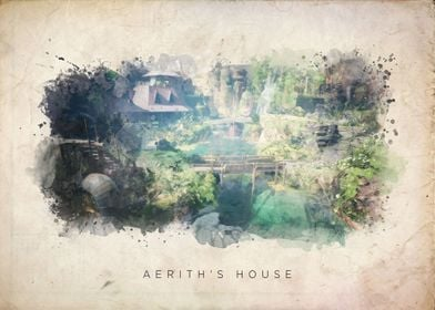 FF7 Aeriths House