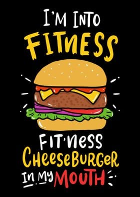 Into Fitness Cheeseburger