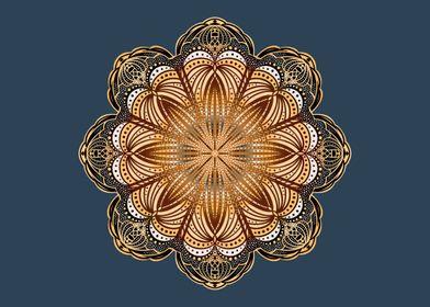 Art Nouveau Mandala
