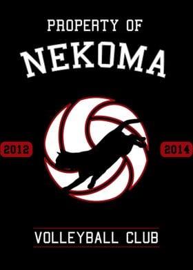 Nekoma Club Haikyuu Poster Print By Mangart Displate Want to discover art related to nekoma? aud