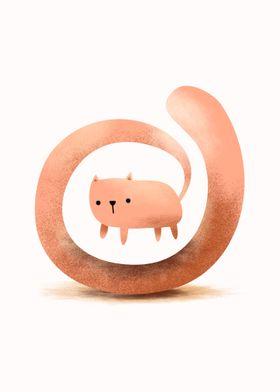 Spiral Cat