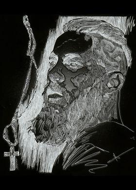 Ragnar Lothbrok black