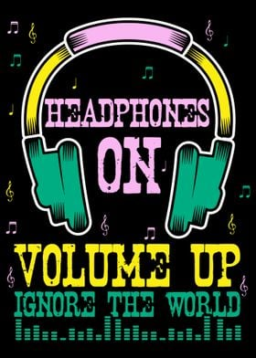Headphone Music DJ