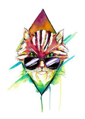 Hellectro kitty
