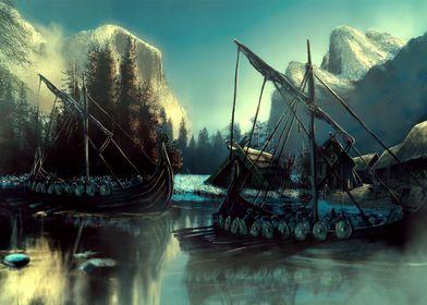 Viking Raiding Party