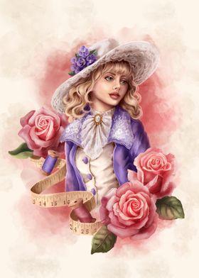 Romantic lady