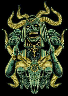 Skeleton Witch Ritual