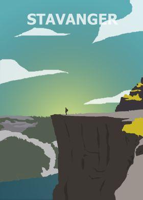Stavanger cliff