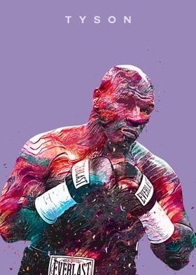Boxer Iron Mike Tyson