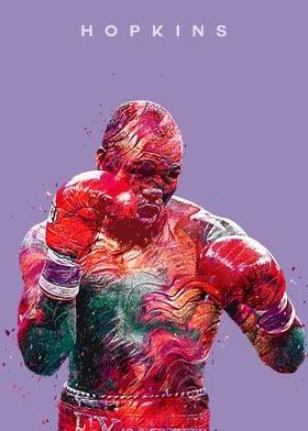 Boxer Bernard Hopkins