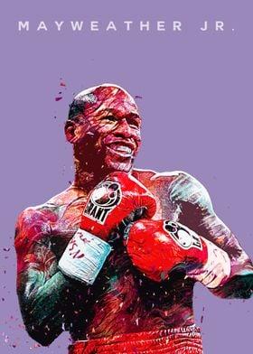 Boxer Floyd Mayweather Jr