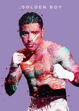 Boxer Oscar Dela Hoya