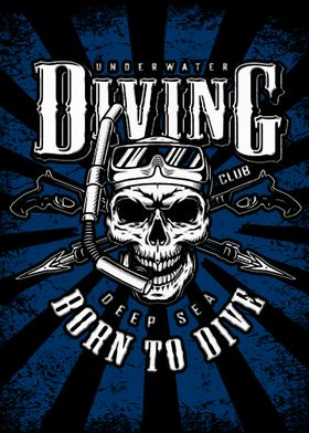 Diving Born to Dive