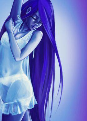 Pastel Girl Blue
