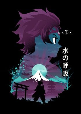 Anime Hero Tanjiro