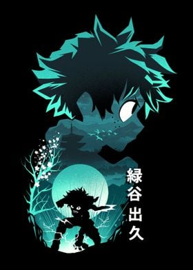 Anime Hero Deku