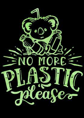 No more plastic please