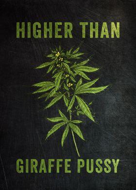 Higher Than Giraffe Pussy