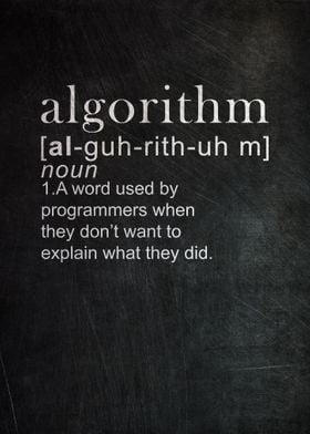 Algorithm Definition