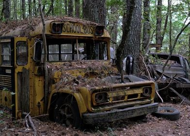 Old Spooky Bus