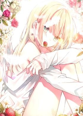 Anime Girls Angels Cute