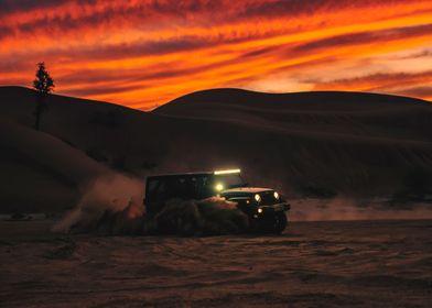 Sunset drift