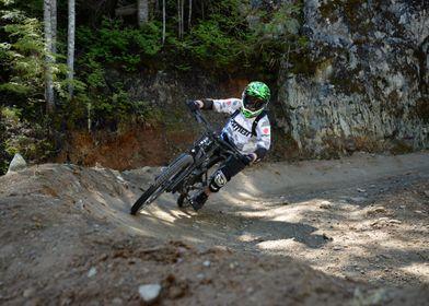 Mountainbiker in Whistler