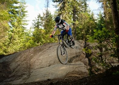 Rock roll with the MTB
