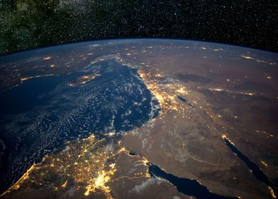 Nile Delta from Space