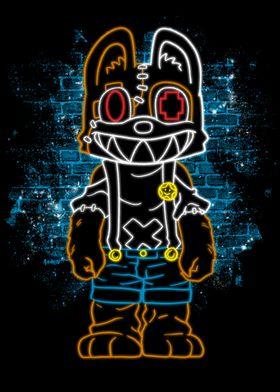 Monster Furry Neon